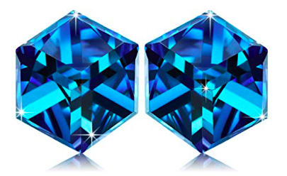 Alex Perry Hooked Bermuda Blue 925 Sterling Silber Ohrringe ab 9,99€ (statt 22€)