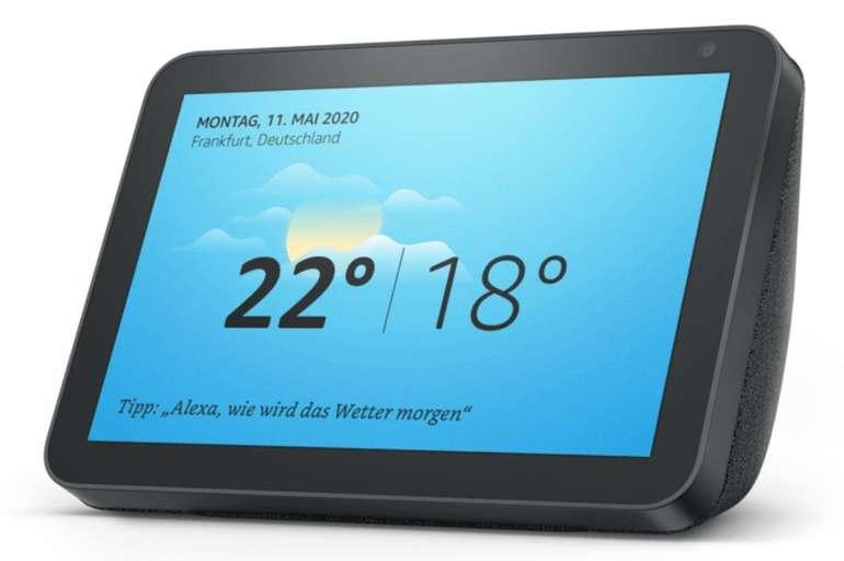 Amazon Echo Show 8 Smart Display /Speaker mit 8 Zoll großem HD-Bildschirm für 89,99€