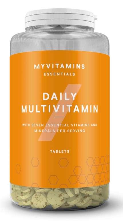 MyProtein: Tägliches Multivitamin Tabletten (60 Stück) für 3,89€zzgl. Versand (statt 7€)