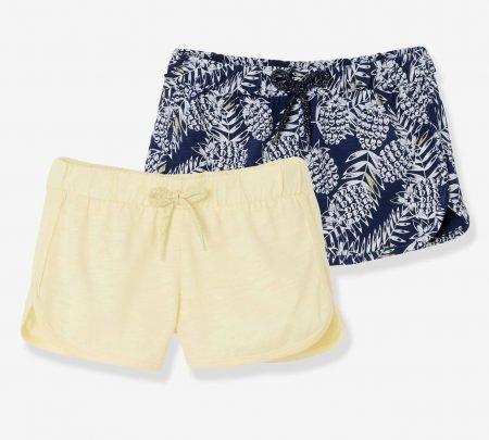 Vertbaudet Sale: Bis zu 50% Rabatt, z.B. 2er Pack Mädchen Shorts für 10,44€
