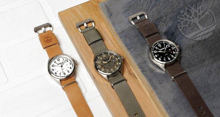 """Timberland - Uhr """"Raynham"""" mit zwei Armbändern für 54,90€ inkl. VSK (statt 75€)"""