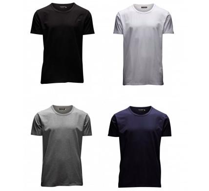 4er Pack Jack & Jones Herren T-Shirts (O-Neck & V-Neck) für 27,50€ inkl. Versand