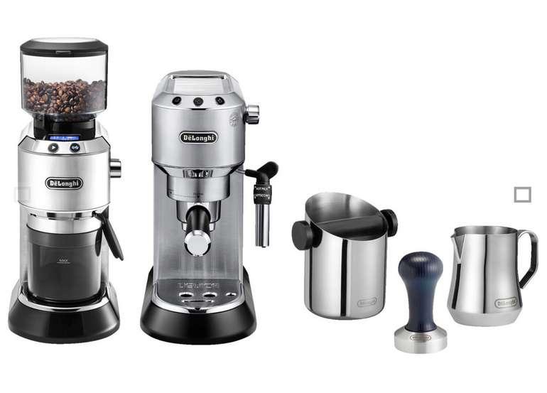 De'Longhi Dedica EC 685 Barista Bundle Espressomaschine & Kaffeemühle mit Zubehör für 269€ inkl. Versand (statt 325€)