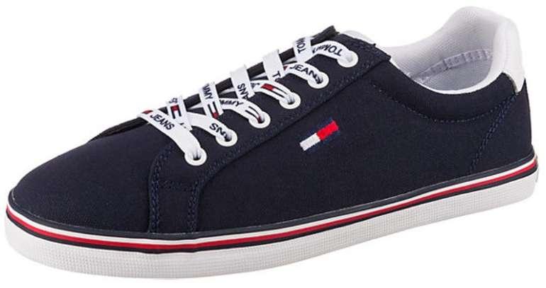 Tommy Jeans Hazel 1d Sneaker in dunkelblau für 43,19€ inkl. Versand (statt 60€)
