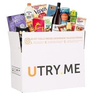 Utry.me Online Supermarkt: Probier-Box für 12,45€ (statt 25€)