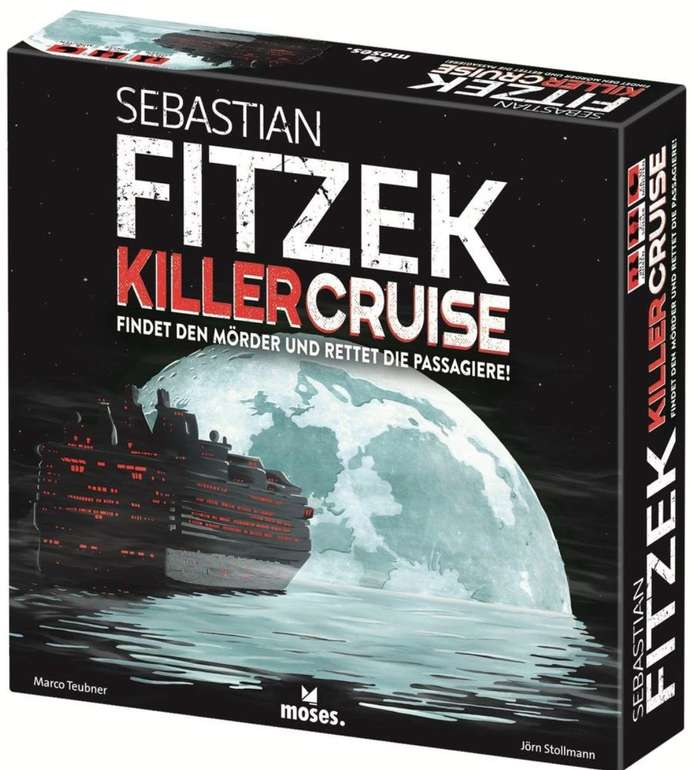 Brettspiel: Sebastian Fitzek KillerCruise für 22,94€ inkl. Versand (statt 30€) - kostenlose Kundenkarte nötig!