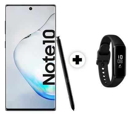 Samsung Galaxy Note 10 (+11€) + Fit E Tracker inkl. Telekom AllNet-Flat mit 8GB LTE für 31,99€ mtl.