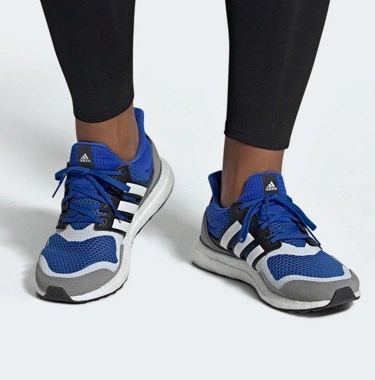 """Adidas UltraBOOST S&L Herren Sneaker im """"blue/ftwr white/grey three""""-Colorway für 79,97€"""