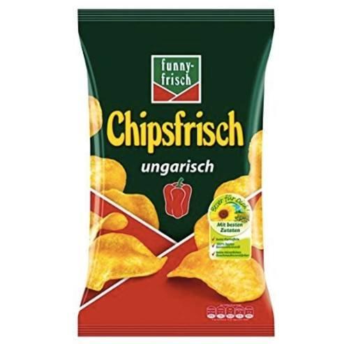 10er-Pack funny-frisch Chipsfrisch ungarisch (10x175g) für 8,99€ mit Prime!