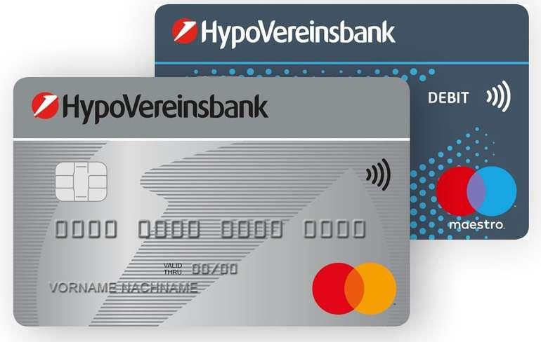 HypoVereinsbank (HVB) Girokonto mit Mastercard: 5 Jahre kostenlos + 100€ Amazon Gutschein