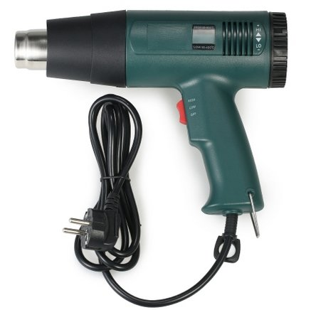 LCD Digital Temperature-controlled Electric Hot Air Gun für 20,29€ (statt 28€)