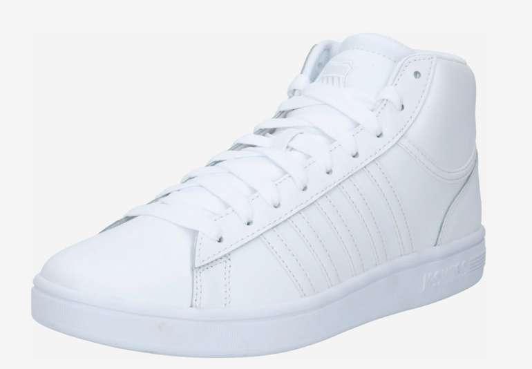 K-Swiss Court Winston Herren Mid Sneaker in Weiß für 34,99€inkl. Versand (statt 42€)