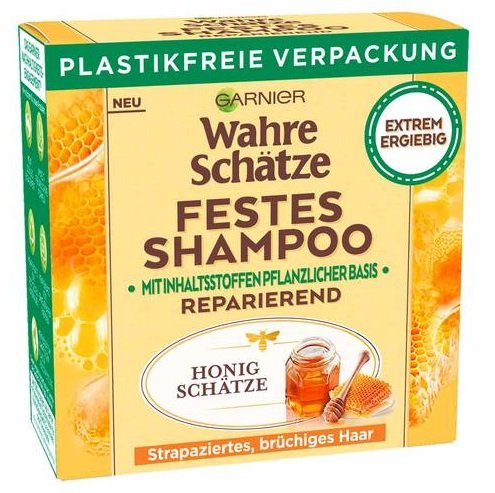 Garnier Wahre Schätze festes Shampoo kostenlos testen