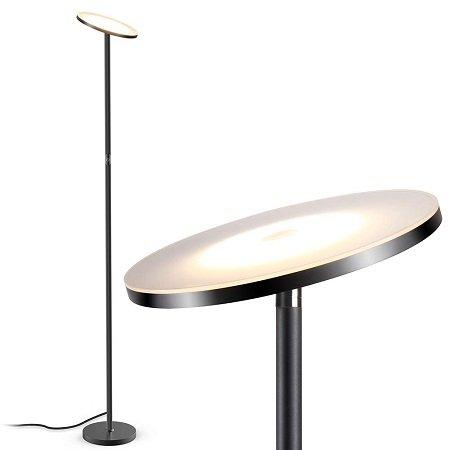 Teckin LED Deckenfluter Stehlampe - stufenlos dimmbar für nur 45,59€