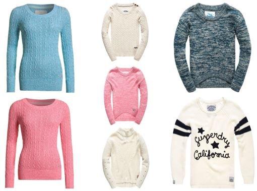 Superdry Damen Pullover (viele Modelle) nur je 23,95€ (statt 35€)