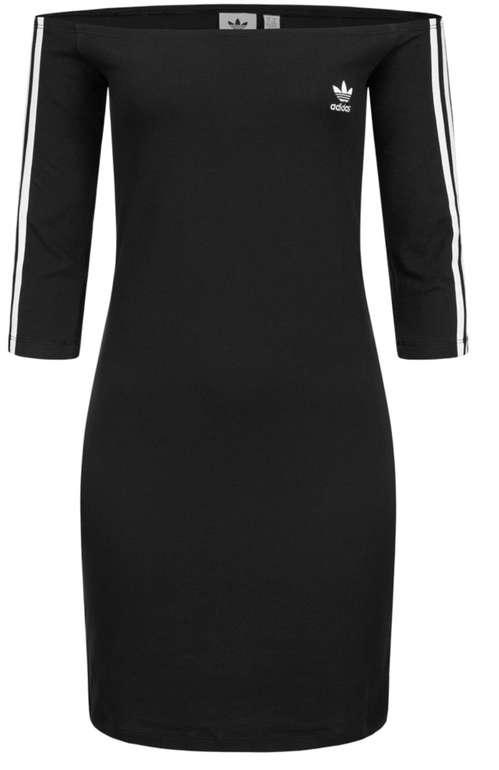 adidas Originals Off The Shoulder Damen Kleid in Schwarz für 23,94€inkl. Versand (statt 32€)