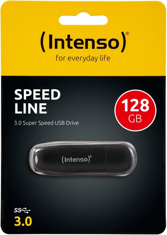 Intenso Speed Line USB 3.0-Stick mit 128GB für 11€ inkl. Versand