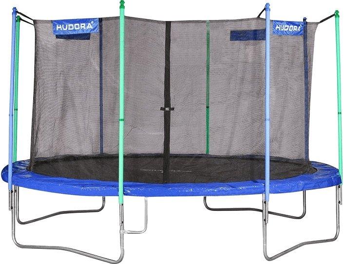Hudora Fitness Trampolin 400V mit Sicherheitsnetz für 164,15€ inkl. VSK