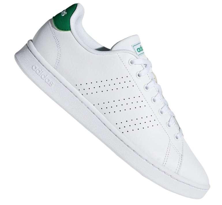 Adidas Advantage Unisex Sneaker in Weiss Grün für 45,46€ inkl. Versand (statt 57€)