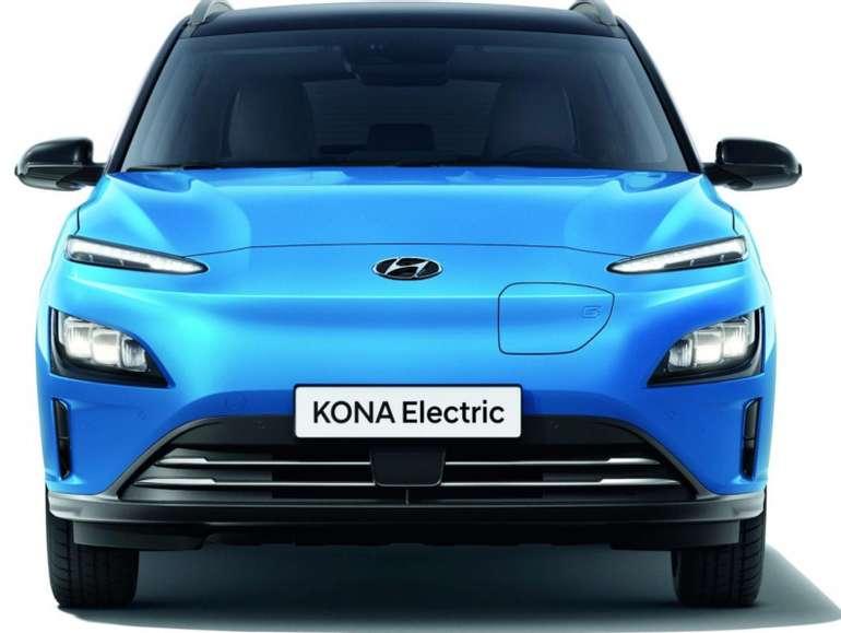 Gewerbe Leasing: Hyundai Kona MJ21 (150kW) mit Apple CarPlay / Android Auto uvm. für 121,82€ netto mtl. (LF: 0,34)