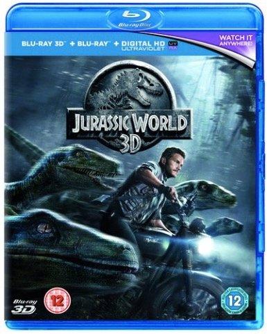 Jurassic World (3D) auf Blu-ray 3D + Blu-ray für 3,70€ inkl. Versand