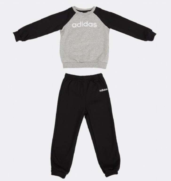 Adidas Baby Linear Fleece Jogginganzug für 21,48€ inkl. Versand (statt 29€)