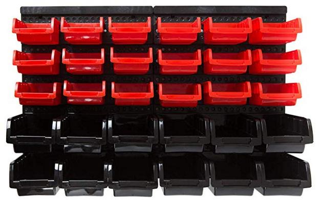 Wolketon Wandregal + Stapelboxen 32 tlg. für 14,69€ inkl. Versand (statt 19€)