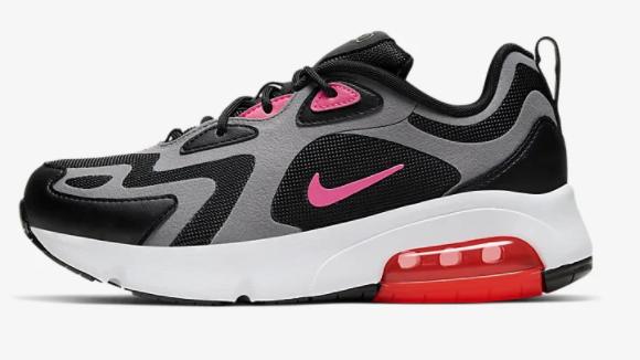 Nike Air Max 200 Schuh für ältere Kinder in schwarz-pink für 56,52€ inkl. Versand (statt 70€)
