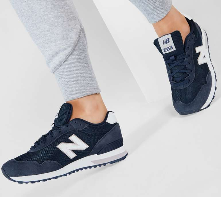 New Balance WL515RB3 Damen Sneaker in Dunkelblau für 48,45€ inkl. Versand (statt 57€)