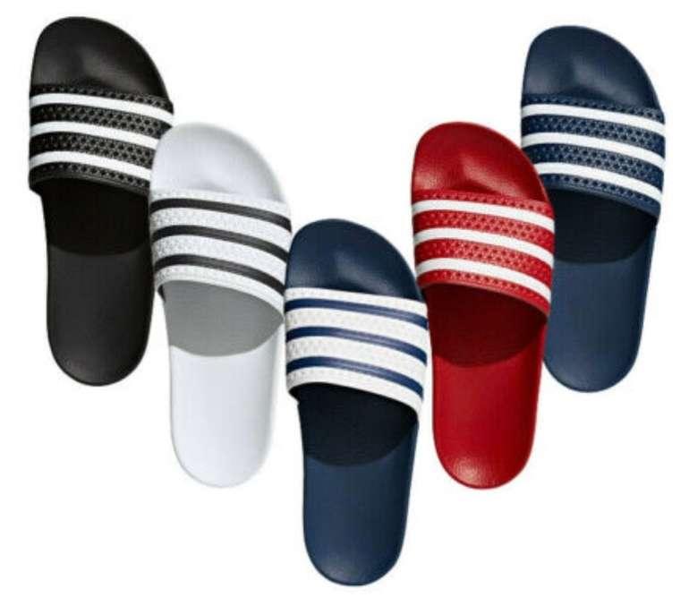 Adidas Originals Adilette (versch. Farben) für je 22,36€ inkl. Versand (statt 25€)