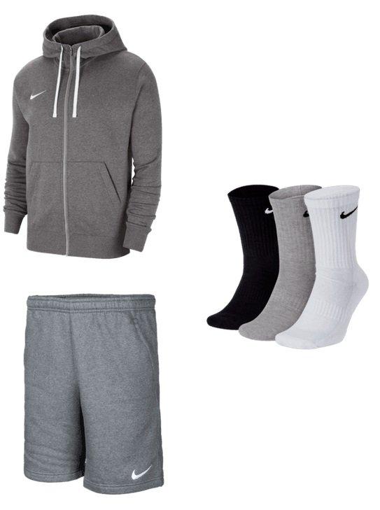 Nike Team Park 20 Outfit (Kapuzenjacke, Shorts & Socken) für 59,95€ inkl. Versand (statt 70€)