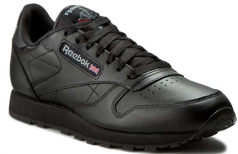 Reebok Classic Leather Unisex Sneaker in Schwarz für 59€ inkl. Versand (statt 70€)