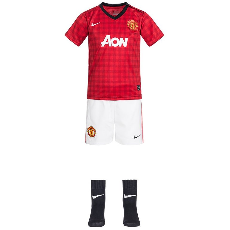 Verschiedene Baby- & Kinder Trikotsätze für je 15,94€, z.B. Manchester United