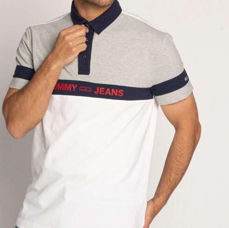 Tommy Hilfiger Sale mit 25% Extra Rabatt bei Dress for Less - z.B. TJM Colorblock Poloshirt für 29,92€