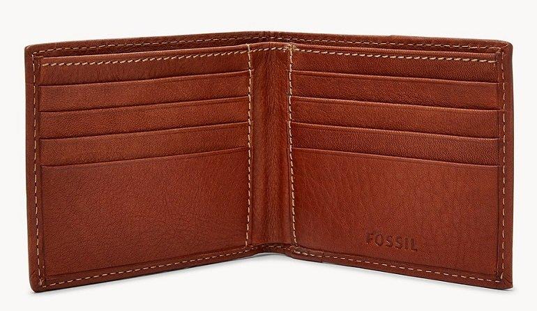 Fossil Lufkin Bifold Herren Geldbörse für 13€ (statt 45€)