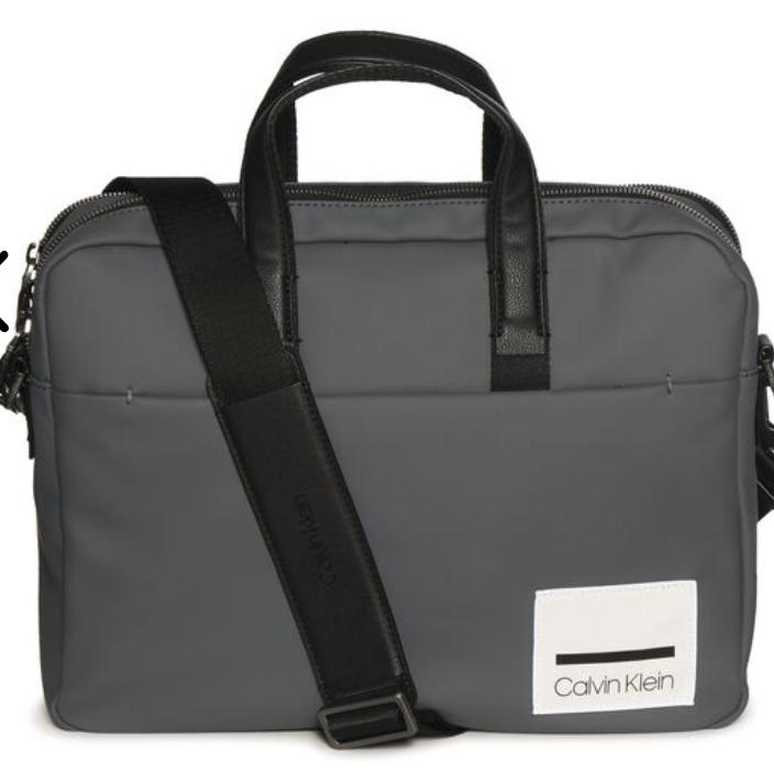 """Calvin Klein """"Task Force N Gus"""" Laptoptasche in Grau für 48,57€ inkl. Versand (statt 126€)"""