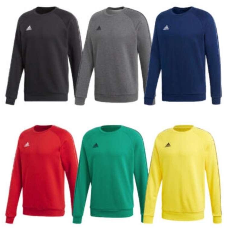 Adidas Performance Core 18 Herren-Sweatshirt (versch. Farben) für je 19,51€ inkl. Versand (statt 23€)