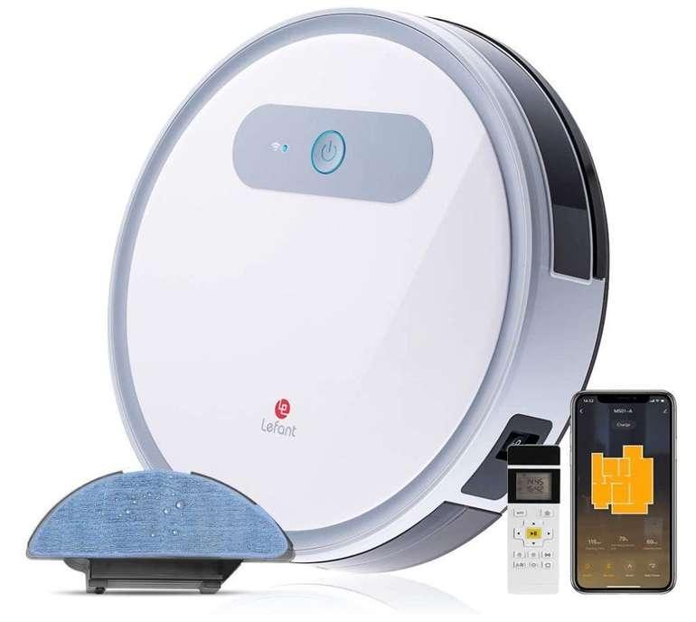 Lefant M501A Saugroboter (2000 PA, App + Alexa/Google Home kompatibel) für 139,99€ inkl. Versand