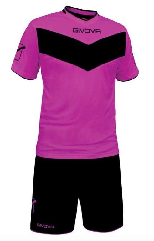Givova Fußball Set Trikot mit Short Vittoria (viele versch. Farben) für 10,24€ inkl. Versand