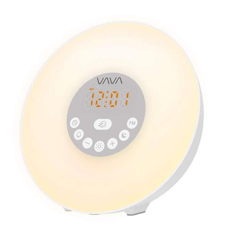 Vava Lichtwecker mit 10 Helligkeitsstufen & Sonnenaufgangs-Simulation für 12,99€ (Prime)