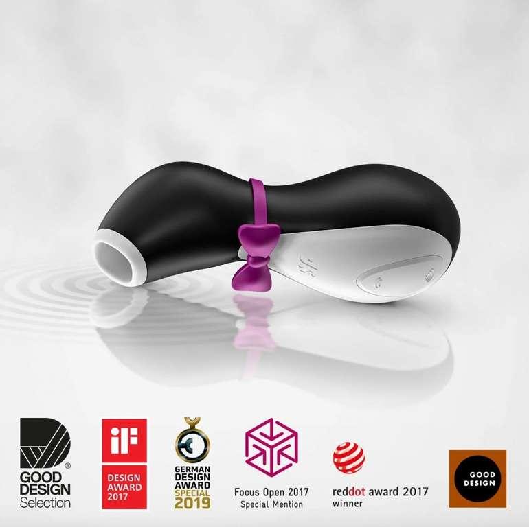 Satisfyer Pro Penguin aus Silikon für 1,99€ (statt 24€) - Mindestbestellwert: 29,95€ + 6 Gratisartikel