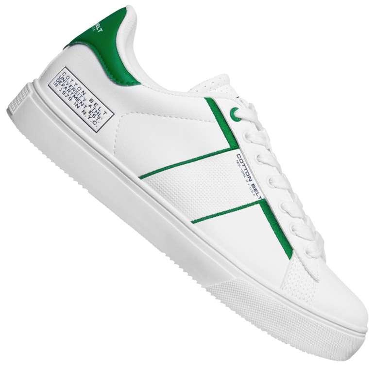 Cotton Belt White Green Herren Sneaker für 21,94€ inkl. Versand (statt 30€)