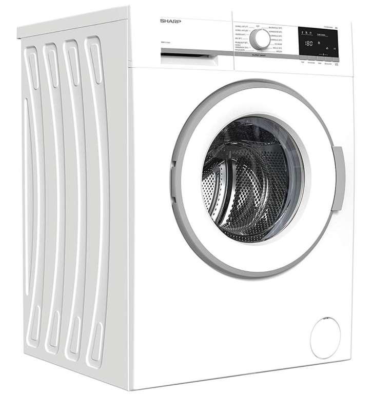 Sharp ES-HFB714AWA-DE - 7kg Waschmaschine mit 1400 U/Min. und Inverter Motor für 293,99€ (statt 367€)