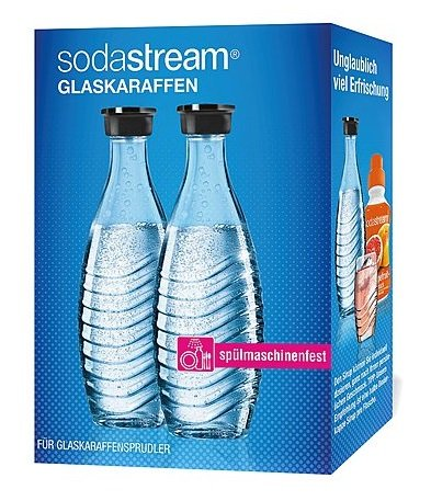 SodaStream Glaskaraffe Duopack je 0,6l für 16,99€ inkl. Versand