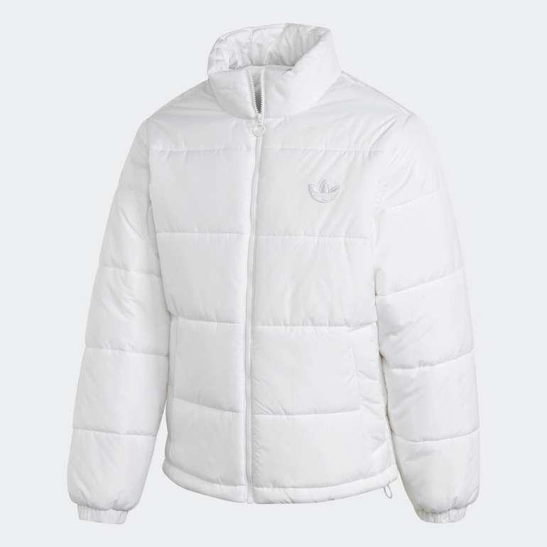Adidas Puffer Jacke in weiß (viele Größen) für 48€ inkl. Versand (statt 69€)