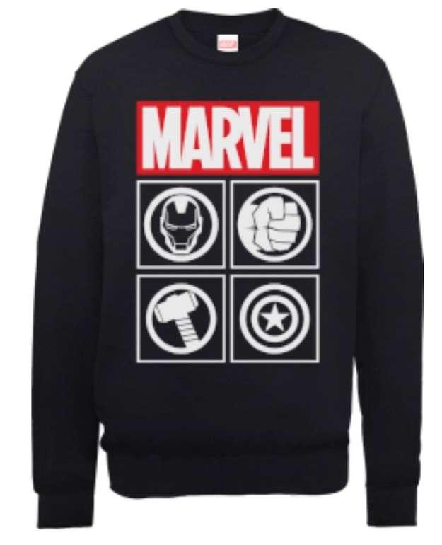 Zwei Marvel Sweatshirts für 34€ inkl. Versand - 798 Modelle zur freien Auswahl!