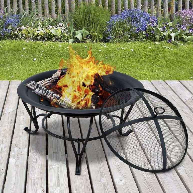 Outsunny Feuerkorb für Holz und Holzkohle nur 39,99€ (statt 53€)