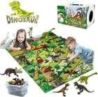 Yunke Dinosaurier Spielzeug Set (mit Spielmatte & Zubehör) für 11,99€ inkl. Prime Versand (statt 24€)