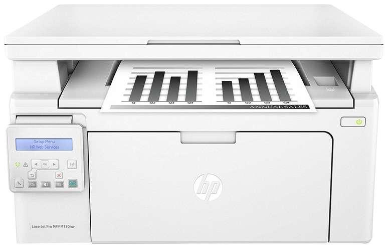 HP LaserJet Pro M130nw s/w Laser-Multifunktionsgerät für 99,90€ inkl. Versand