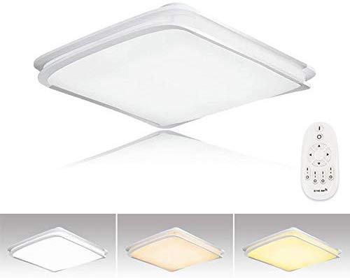 Hengda 64W dimmbare LED Deckenleuchte mit Fernbedienung für 36,49€ inkl. Versand (statt 60€)